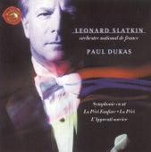 La Peri Fanfare, La Peri, L'apprenti Sorcier, Symphony In C von Leonard Slatkin