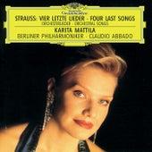 Strauss, R.: Vier letzte Lieder; Orchesterlieder de Karita Mattila