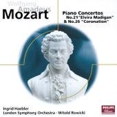 Mozart: Piano Concertos Nos. 21 & 26 von Ingrid Haebler