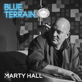 Blue Terrain by Marty Hall