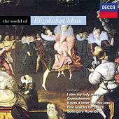 Various: The World of Elizabethan Music by Various Artists