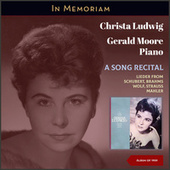 A Song Recital (In Memoriam (Album of 1959)) by Christa Ludwig