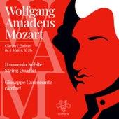 W.A. Mozart: Clarinet Quintet in A Major, K. 581 de Harmonia Nobile String Quartet