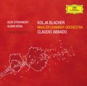 Stravinsky, Berg: Violin Concertos di Claudio Abbado