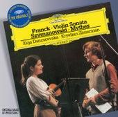Franck: Violin Sonata / Szymanowski: Mythes a.o. von Kaja Danczowska