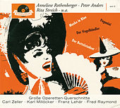 4 Operettenquerschnitte - Der Vogelhändler, Der Bettelstudent, Paganini, Maske in Blau von Grosses Operettenorchester