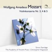 Mozart Violinkonzerte 3, 4 & 5 de Simon Standage