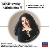Tschaikowsky + Rachmaninoff von Martha Argerich