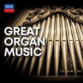 Great Organ Music de Peter Hurford