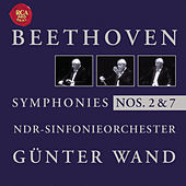 Beethoven: Symphonies Nos. 2 + 7 by Günter Wand