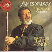 Mercadante Concertos For Flute And Orchestra de James Galway