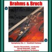 Brahms & Bruch : Symphony No. 1- Scottish Fantasy by David Oistrakh