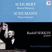 Schumann: Piano Concerto in A Minor, Op. 54 - Schubert: 6 Moments musicaux, Op. 94, D. 780 von Rudolf Serkin