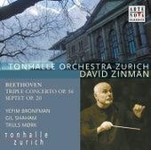 Beethoven: Triple Concerto/Septet von David Zinman