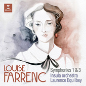 Farrenc: Symphonies Nos 1 & 3 de Laurence Equilbey