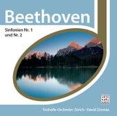 Beethoven: Sinfonie Nr. 1 & 2 von Tonhalle Orchestra Zurich