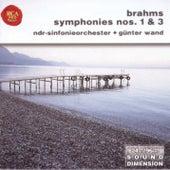 Dimension Vol. 9: Brahms - Symphonies Nos. 1 & 3 by Günter Wand