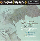Franck: Symphony, Stravinsky: Petrouchka de Pierre Monteux