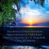 Beethoven: Piano Sonatas: Appassionata & Pathetique - Piano Concerto No. 3 - Bagatelle - Choral Fantasy de Sviatoslav Richter