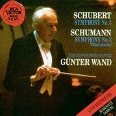 Schubert/Schumann:Symphony No.3 by Günter Wand