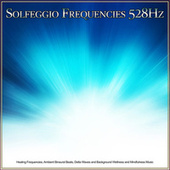 Solfeggio Frequencies 528Hz: Healing Frequencies, Ambient Binaural Beats, Delta Waves and Background Wellness and Mindfulness Music de Solfeggio Frequencies 528Hz