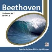 Beethoven: Sinfonie Nr. 7 & 8 von David Zinman