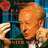 Mozart: Sym. 40/Tchaikovsky: Sym. 5 by Günter Wand