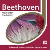 Beethoven: Violinkonzert+Tripelkonzert by Eugene Ormandy