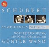Schubert: Symphony No. 4 & 8 by Günter Wand