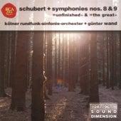 Dimension Vol. 7: Schubert - Symphonies Nos. 8 & 9 by Günter Wand