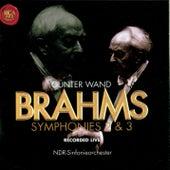 J. Brahms: Symphonies Nos. 2 & 3 by Günter Wand