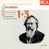 Brahms: Symphonies Nos. 1 & 3 by Günter Wand
