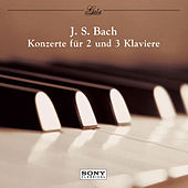 Bach: Concertos for 2 & 3 Pianos de Robert Casadesus