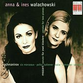 Wolfgang Amadeus Mozart: Sonata for 2 Pianos, K. 448 / Sergej Rachmaninoff: 6 Duets / 2 Pieces / Polka italienne by Various Artists