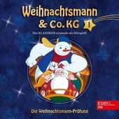 Folge 1: Die magische Perle / Die Weihnachtsmann-Prüfung (Das Original-Hörspiel zur TV-Serie) von Weihnachtsmann