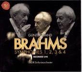 J. Brahms: Symphonies Nos. 1, 2, 3 & 4 by Günter Wand