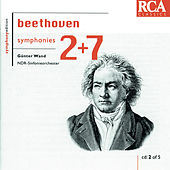 Beethoven: Symphonies Nos. 2 & 7 by Günter Wand