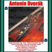 Dvořák: Cello Concerto, Op. 104 - Violin Concerto, Op. 53 fra Enrico Mainardi
