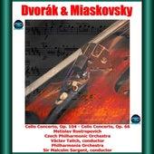 Dvořák & Miaskovsky: Cello Concerto, Op. 104 - Cello Concerto, Op. 66 de Mstislav Rostropovich
