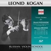 Wieniawski & Brahms: Works for Violin & Piano by Leonid Kogan