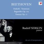 Ludwig van Beethoven (1770-1827) Variations Diabelli von Rudolf Serkin