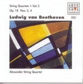 Beethoven: String Quartets Vol.3 Op.18 No. 3+4 de Alexander String Quartet