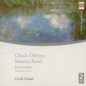 Claude Debussy: Pour le piano / Preludes / Etudes / L'Isle joyeuse / RAVEL, M.: Jeux d'eau / Gaspard de la nuit / Miroirs (Ousset) von Cécile Ousset