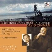Beethoven: Piano Concertos 3 & 4 by Yefim Bronfman