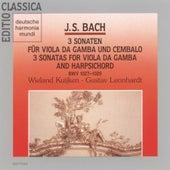 Bach: Viola Da Gamba Sonaten by Wieland Kuijken
