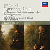 Brahms: Symphony No.4; Alto Rhapsody; Nanie de Various Artists