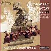 Mozart: Piano Concertos Nos. 17 & 23 de Robert Casadesus