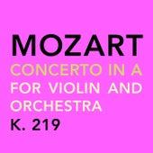 Mozart: Concerto in a for Violin and Orchestra, K. 219 de Susanna Yoko Henkel