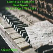 Beethoven Piano Sonata  No 1 in F Op 2 No 1 (Vol 1) de Classic Hertz