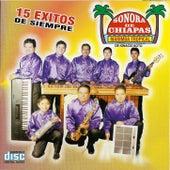 15 Exitos de Siempre de Marimba Tropical Sonora De Chiapas De Ignacio Soto